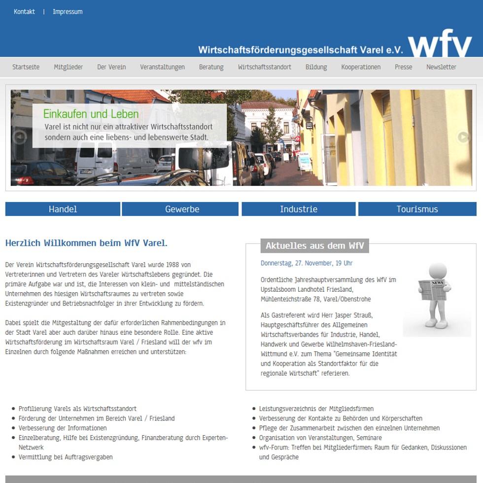 Typo3 Website mit integrierten Adress Datenbanken